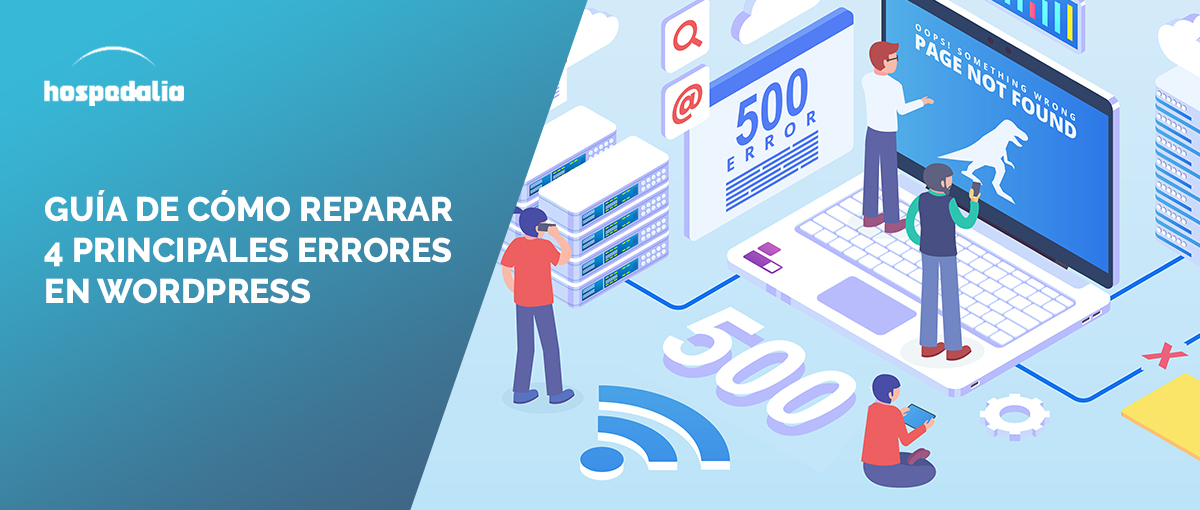 cómo reparar errores en wordpress