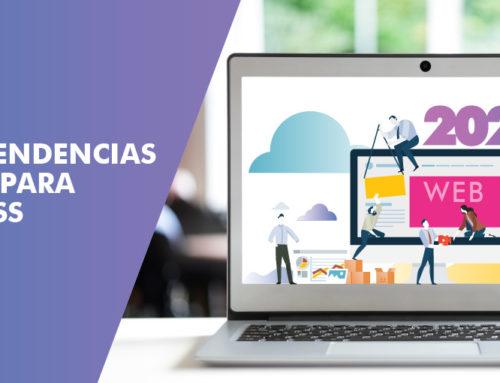 Nuevas tendencias web 2020 para WordPress