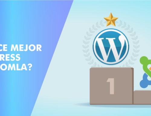 ¿Qué hace mejor a WordPress sobre Joomla?